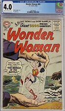 WONDER WOMAN #85 CGC 4.0
