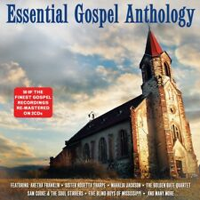 GOSPEL - ESSENTIAL ANTHOLOGY (Various Artists) 2CD