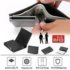 Wallet For Men Slim &Mini Aluminium RFID Card Holder Anti-theft Wallet