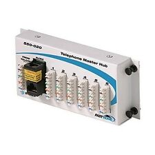 Steren 550-020 Fast Home Telephone Hub Module Distributes 4 Lines to 6 Ports