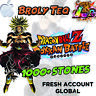 iOS - Dokkan Battle - Broly Teq LR with 1000+ Dragon Stones Fresh Global