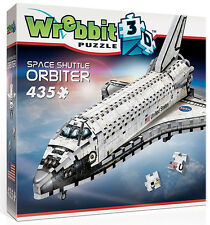 3D Puzzle - Space Shuttle Orbiter - NASA, 435 Teile, Raumfähre, Wrebbit