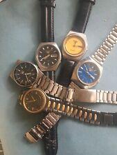 Job Lot of Rare Vintage Seiko watches
