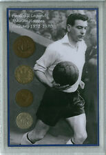 Fulham (The Cottagers) Johnny Haynes Legend Vintage Retro Coin Fan Gift Set 1952