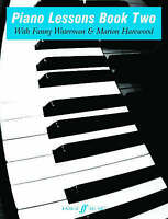 Piano Lessons Book Two by Waterman, Fanny|Harewood, Marion (Paperback book, 1973