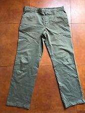 Pantaloni MALO, verde salvia.In cotone leggero, Tg.56
