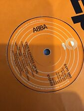 """Abba - Take a chance on me  used 7"""" Single record"""
