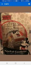Disney Mickey Mouse Classic Twin/Full Reversible Comforter.