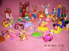 HAPPY MEAL TOYS BY VARIOUS FAST FOOD CHAINS, 33 IN ALL, 2008-2011, BOYS & GIRLS