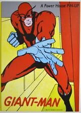 POWER PIN-UP Print - GIANT MAN Vintage Art Marvel UK Distribution Avengers