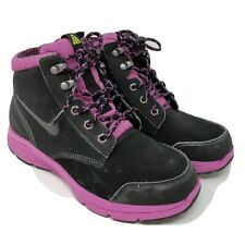 Nike Girl's Youth Size 7Y Dual Fusion Jack Boots GS Pink Black 536079-001