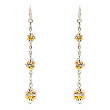 Guess Jewelry UBE11318 Ladies  Silver Gold Stainless Steel Earrings