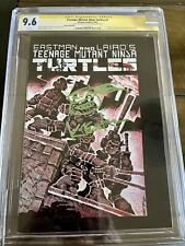 TMNT #1 CGC SS 9.6 2nd Printing Signed By Eastman VERY RARE only 9 on Census