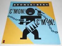 "BRONSKI BEAT - C'MON! C'MON!  - 1986 UK 3 TRACK 12"" SINGLE VINYL RECORD"