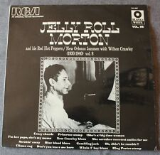 Jelly Roll Morton and his red hot peppers  vol 8, LP - 33 tours