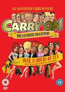 """Carry On - The Ultimate Collection DVD Box Set 30 Films R2 """"on sale"""""""