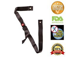 """Wheelchair Seat Belt up to 60"""" Auto Style with Metal Buckle"""