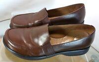 DANSKO Shoes Dansko Loafers Women's 41 US Size 10.5 -11 Brown Moc Toe Slip On