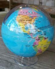 "Political Map Blue MOVA Globe 4.5"""