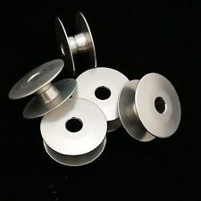 """""""M"""" Style Bobbins (Aluminium) x5 (18034AQW) (D9117-141-E00) for Long Arm Machine"""