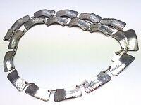 Traumschönes Silber Collier 30er Jahre 800 Silber HANDARBEIT punziert / A95