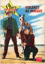 STAR CINE AVENTURES 54 VIOLENCE AU KANSAS 1960 JEFF CHANDLER