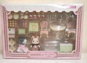 Sylvanian Families × Ladurée Limited Edition Tea time in Ladurée Rabbit Cat NEW