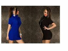 Wool Polo Neck Plus Size Long Jumpers & Cardigans for Women