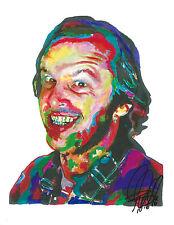 Jack Nicholson, The Shining, One Flew Over the Cuckoo's Nest, 8.5x11 Print w/Coa