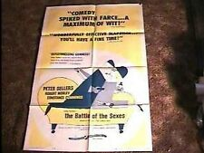 BATTLE OF THE SEXES MOVIE POSTER '60 PETER SELLERS