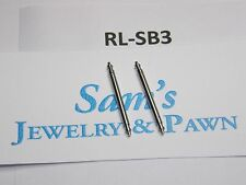 2 Swiss Spring Bar for 20mm Rolex Submariner 16610  16233 Leather Strap  #RL-SB3