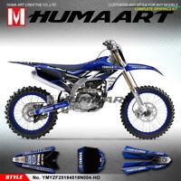 Personalised Sticker Kit MX Graphics Wrap for Yamaha YZ 450F 250F 2018 2019 2020