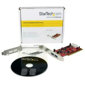 Brand New & Boxed: StarTech 2 Port PCI SuperSpeed USB 3.0 Adapter Card PCIUSB3S2