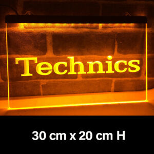 New Technics Home Cafe Bar Man Cave Decor Led Neon Light Gift Advertise