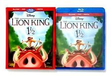 Disney The Lion King 1 1/2 (2-Disc Blu-ray/DVD, Digital HD) New with Slipcover!