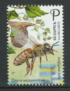Belarus 2020 Honey Bee MNH stamp