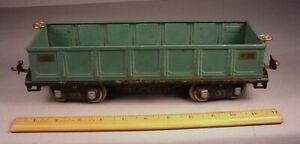 Lionel Trains 1920's #512 Gondola Train Car Standard Gauge tin litho  toy