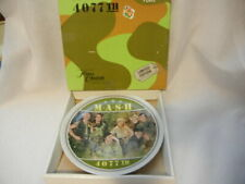 M*A*S*H 4077th LIMITED EDITION COMMEMORATIVE PLATE BOXED VINTAGE 1982 TV SERIES