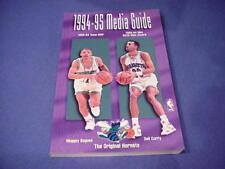 1994-1995 Charlotte Hornets NBA Basketball Media Guide - Muggsy Bogues
