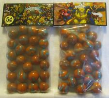 2 Bags Of X-Men Superhero's 5 Cents Promo Marbles