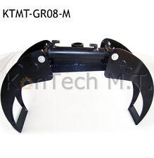 Holzgreifer - Holzzange - max. 300 kg - Stahl - KTMT-GR08-M -  u.a. Rotator