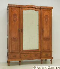 ANTIK! Kleiderschrank restauriert Eiche massiv Art Déco um 1920 Dielenschrank