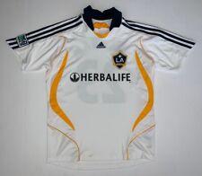 KIDS Adidas Los Angeles Galaxy #23 David Beckham MLS Soccer Jersey Size L