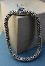 "John Hardy 7mm SAPPHIRE Bracelet Lowest price on Ebay end to end measures 7 5/8"""