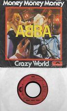 ABBA  Money Money Money / Crazy World  GERMAN Import 45 with PicSleeve