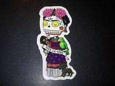 FRIDA KAHLO Viva La Vida Stand MUERTO Art Sticker Print DIA DE LOS JOSE PULIDO