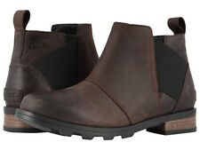 Sorel Women's Emelie Chelsea Boots - Dark Brown Size 9
