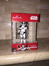 HALLMARK STAR WARS THE LAST JEDI TROOPER CHRISTMAS TREE ORNAMENT 2017