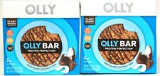 2 Olly 6.3 Oz Chocolate Coconut Chip GF 12g Plant Protein 4 Ct Perfection Bars