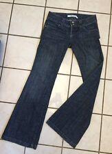 Level 99 Women's Low Rise Wide Leg Boot Cut Trouser Jeans Size 26